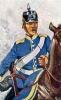 Baden Kavallerie 1870 - Dragoner des 2. Dragoner-Regiments Markgraf Maximilian