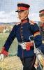 Baden Infanterie 1866 - Offizier vom 3. Infanterie-Regiment