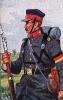 Baden Infanterie 1866 - Soldat vom 4. Infanterie-Regiment