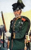 Baden Infanterie 1866 - Korporal vom Jäger-Bataillon