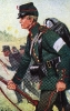 Bremen Infanterie 1866 - Füsilier vom Füsilier-Bataillon Bremen