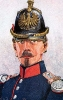 Frankfurt Infanterie 1866 - Füsilier-Offizier des Linien-Bataillons