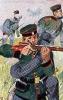 Coburg-Gotha Infanterie 1866 - Soldat vom Coburg-Gothaischen Infanterie-Regiment