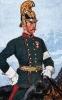 Österreich Kavallerie 1864 - Offizier der Märkischgrätz-Dragoner Nr. 2