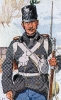 Österreich Infanterie 1864 - Soldat vom Infanterie-Regiment 14