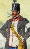 Österreich Infanterie 1864 - Offizier vom Infanterie-Regiment 34