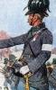 Österreich Infanterie 1864 - Offizier vom Jäger-Bataillon Nr. 9