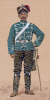 Preussen - Husar vom 1. Hessischen Husaren-Regiment Nr. 13