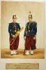Infanterie - Linieninfanterie (Musiker und Soldat einer Zentrumskompanie)
