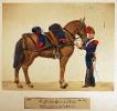 Artillerie - Artillerie zu Pferd (Fahrer und Zugpferd)