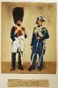Gendarmerie (Gendarm zu Pferd und Departementgendarm zu Fuß)