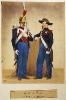 Garde von Paris (Gardist zu Fuß in Großer und Kleiner Uniform)