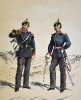 Infanterie - Infanterie-Regiment Friedrich August Nr. 104 (Hornist und Offizier)