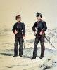 Kadettenkorps - III. Division (links),  II. Division rechts)